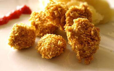 Nuggets de poulet aux corn-flakes