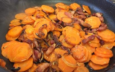 Poêlée de carottes