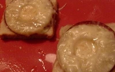 Pain de mie-Ananas