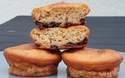 Petits gâteaux moelleux aux pépites de chocolat