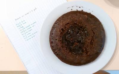 Gâteau au chocolat à la poele