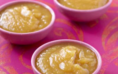 Soupe à la citrouille et aux pommes