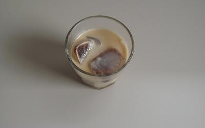 Café latté glacé