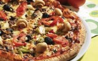 pizza forestière hyper simple, hyper bonne