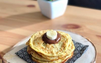 Pancakes bananes en 5 minutes