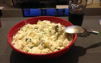 Poulet & courgettes en risotto (à ma façon)