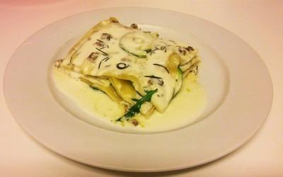Lasagne  Chèvre-Romarin