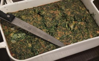 Koukou Sabzi (omelette aux herbes fraîches)