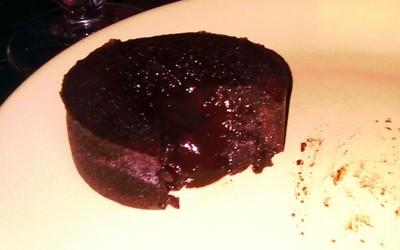 Mi-cuit au chocolat noir