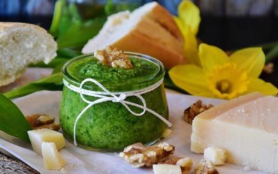 Pesto vert à l'ail des ours