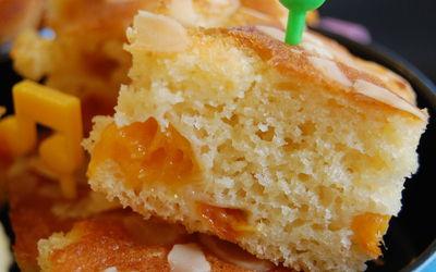 Moelleux aux abricots (sans beurre)