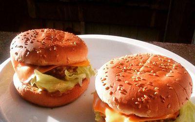 Burger végétarien à base de lentilles
