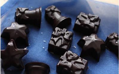 Chocolats de Noël (noir)