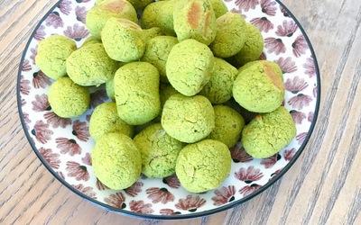 Falafels tout verts au four