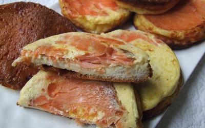 Croque-quiches au saumon