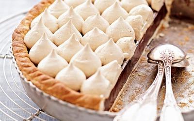 Tarte au chocolat au coaliffe criscolomb