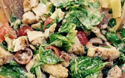Salade César pour les couche-tard
