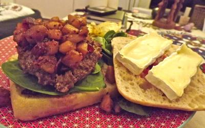 Recette croque monsieur au camembert et au jambon - Herve cuisine hamburger ...