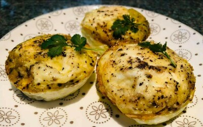 Tartelettes au fromage et aux fines herbes