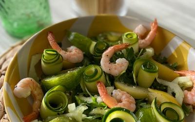 Green Salad 🥬 by @atableavecbenjamin