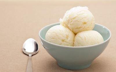 glace à la noix de coco fait maison