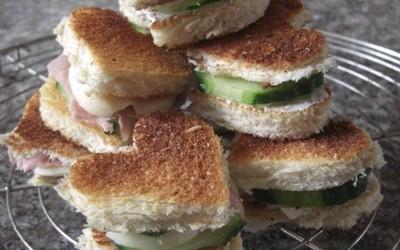 Sandwich St Valentin