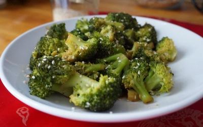 Brocoli sauce soja