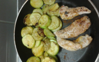 Courgette Poulet Curry