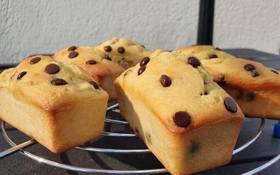 Minis cakes poire-chocolat