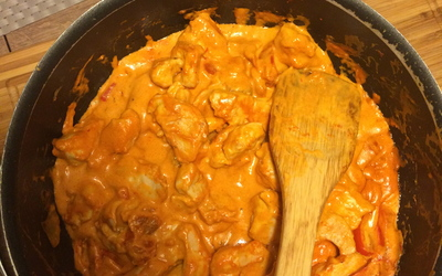 Poulet Curry avec lait de coco