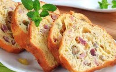 Cake (salé) Aux Olives et Jambon