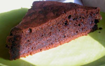 Gâteau au chocolat et aux clémentines(sans beurre)