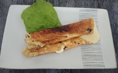 Wrap omelette/raclette