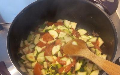 Ratatouille-tomate-courgette-riz