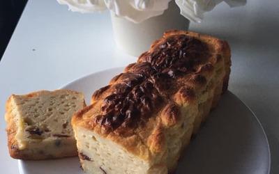 Cake aux raisins secs et cranberries