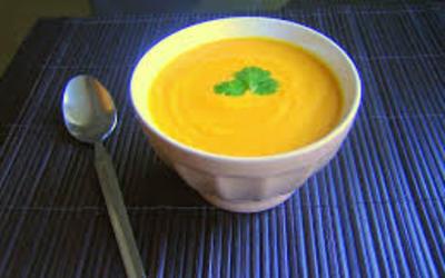 Velouté de carotte rapide