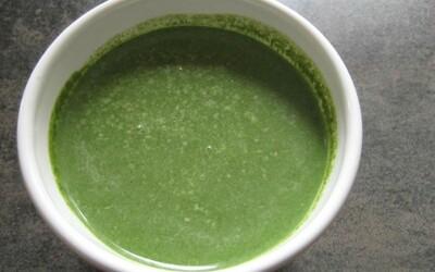 Soupe épinard Boursin