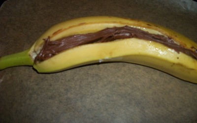 Banane nutella