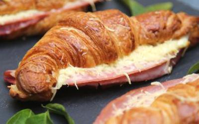 Croissants au four