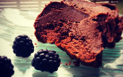 Gâteau magique au chocolat foiré