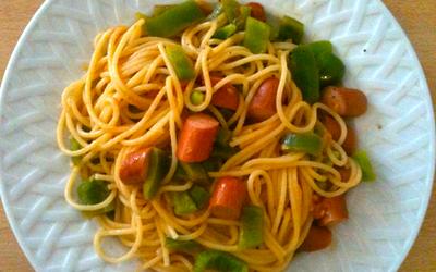 Spaghetti Napolitaine révisé