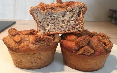 Banana-muffins aux spéculos