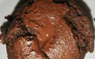 Muffin choco/banane au cœur fondant