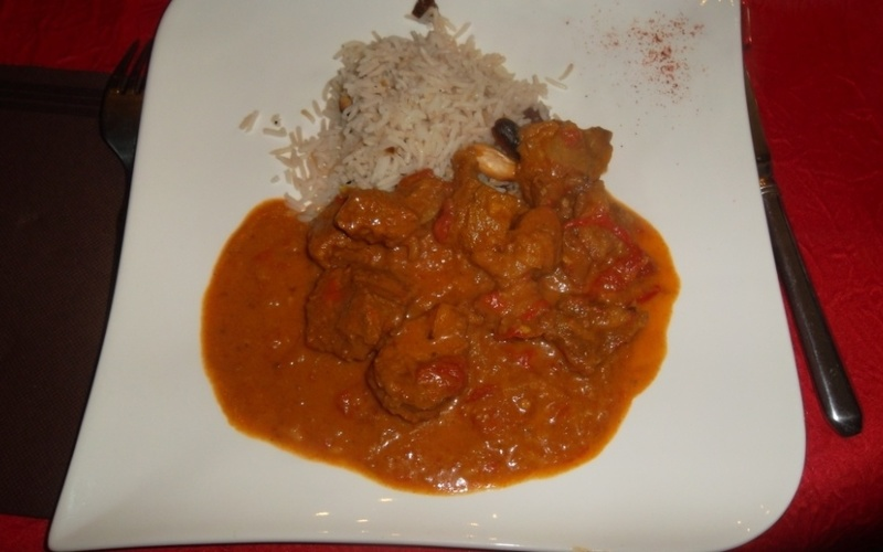 Curry d'agneau à l'indienne