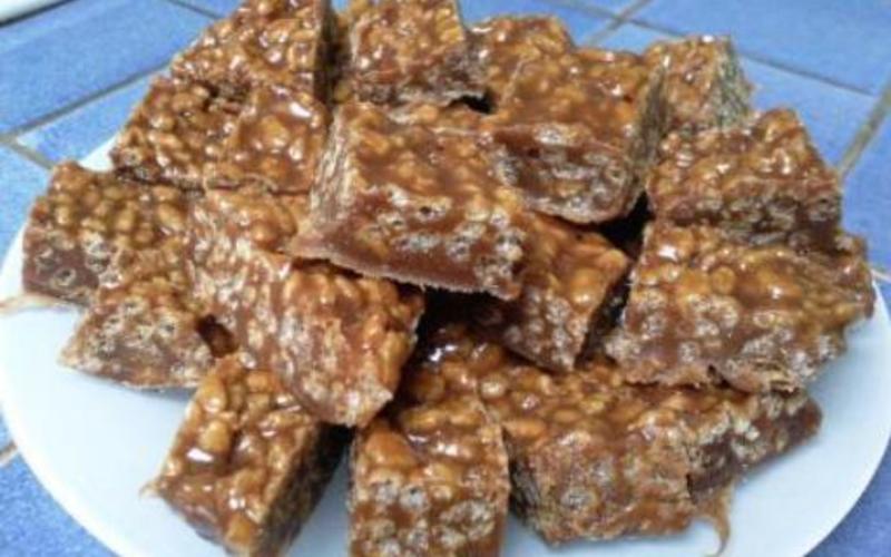 Charambars (gâteau carambars/chmallows)