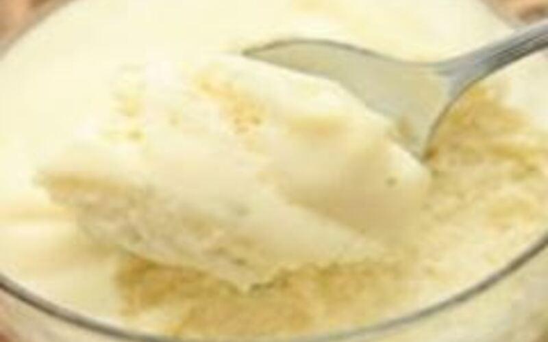 Mousse à la vanille