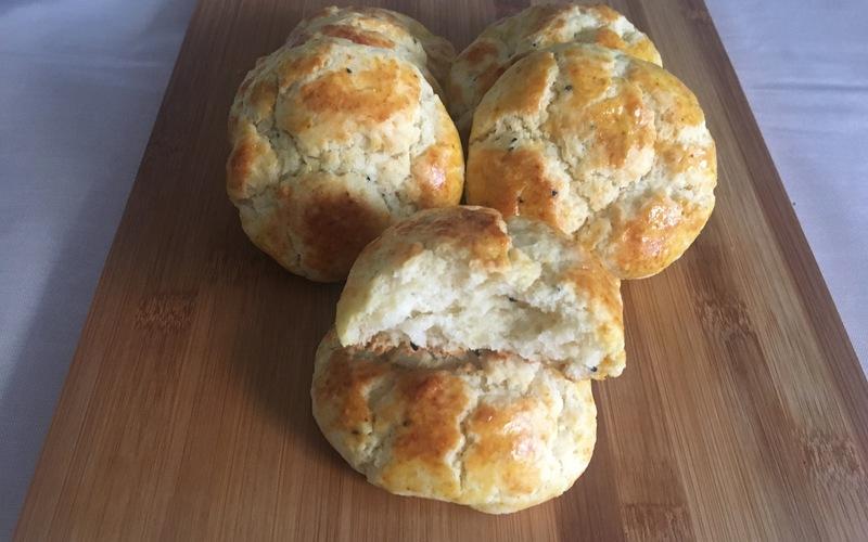 Petits pains express à la crème fraîche