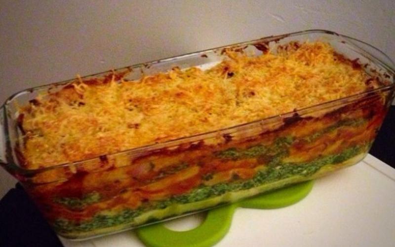 Lasagne Bœuf/Epinards