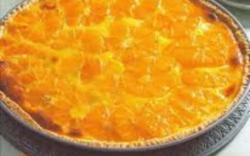 Tarte à l'orange de ma tante