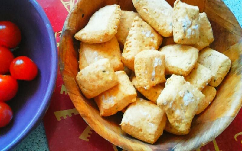 Crackers à la bière et au paprika !